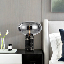 Modern Marble LED Table Lamps for Bedroom Bedside Lamp Living Room Light Fixtures Led Indoor Decor Lighting Luminaire