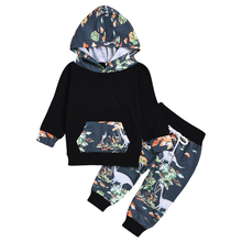 AmzBarley Boys clothes set Long sleeves infant Baby boys Autumn Winter Cotton Tops Cartoon Trousers Toddler  hooded sweatshirt цены онлайн