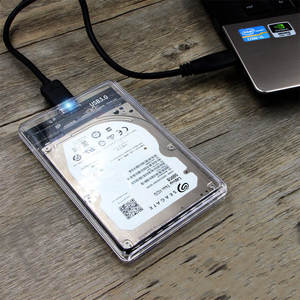 Enclosure Hard-Disk-Box Mobile USB3.0 Transparent 6gbps Customizable Hole-Tool Manufacturers
