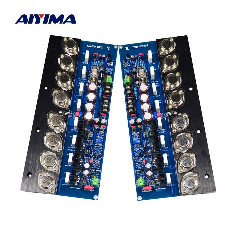 AIYIMA 2Pcs KSA100 Gold Versiegelten Röhre Verstärker Audio Board 100Wx2 High Power HIFI Stereo Klasse A Verstärker Heimkino amp