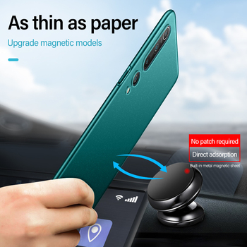Ultra-thin Magnetic Hard Matte PC Phone Case For Xiaomi Mi 10 9 8 T Lite SE F1 Redmi Note 8 7 6 5 Pro Frosted Shockproof Cover premium plastic hard case for xiaomi mi 9t pro a2 8 lite 9 se case ultra thin matte full cover xiaomi mi 9t pro shockproof cover