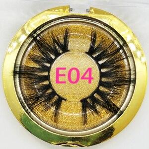 Image 5 - 30/50/100 Pairs 25mm Lashes Vip Momo Eyelashes 3D Mink Lashes Handmade Dramatic Lashes Cruelty Free Mink Lashes Free Custom Logo