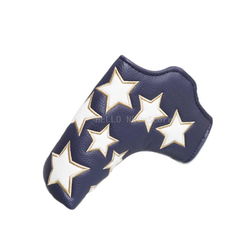 Головной убор для клюшки Клюшки 1 шт. звездный стиль магнит закрытый синий красный желтый белый
