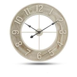 60cm eski duvar saati lüks büyük duvar saati s dilsiz oturma odası Bar ev dekor büyük izle duvar kuvars wandklok