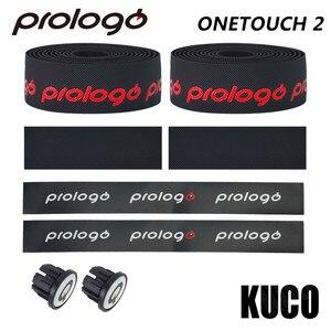 Image 5 - 5 colors Original OneTouch2 Bicycle Handlebar Tape Anti slip Bicycle Grips MTB Cork Handlebar adhesive Tape Bar Plug belt strap