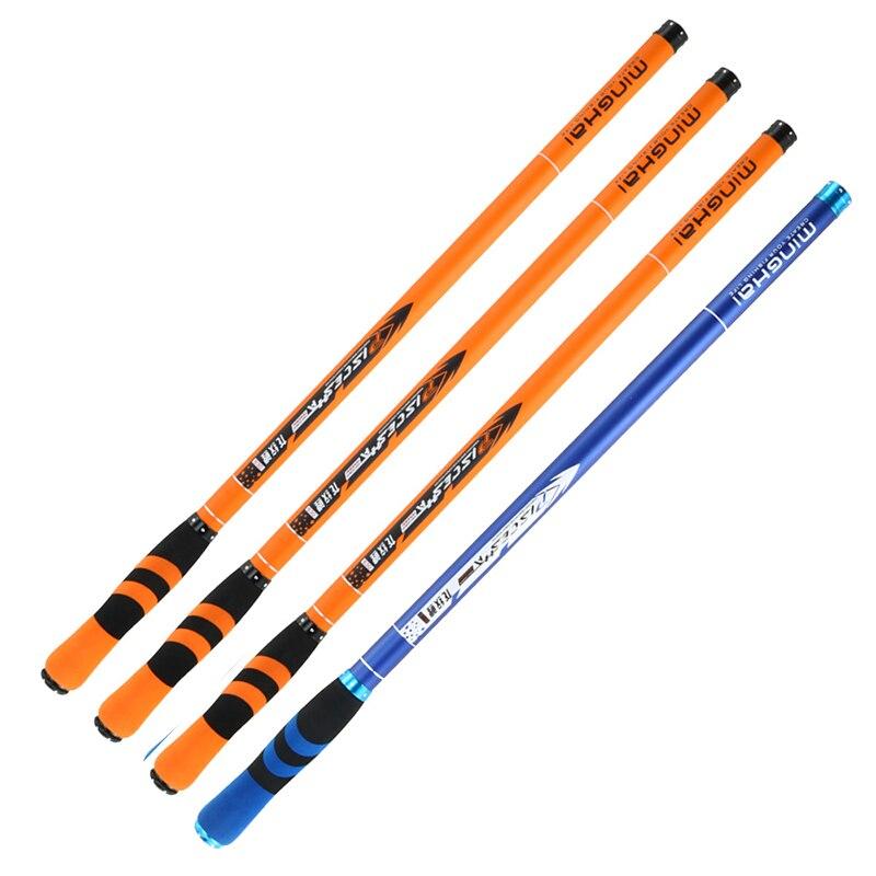 JOSBY 2020 New Carbon Fiber Telescopic Fishing Rod Pesca Stream Hand Pole Carp Ultralight Super hard Travel 3.6/4.5/5.4/6.3/7.2M