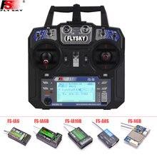 FLYSKY FS-i6 i6 2.4G 6CH AFHDS Transmitter With iA6B X6B A8S R6B iA10B RX2A Receiver Radio Controller for RC FPV Drone Airplane