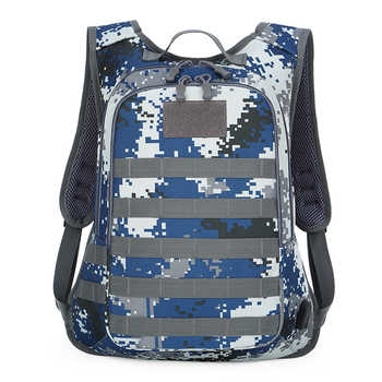 Outdoor camouflage multi-function tactical travel large capacity backpack multi-function USB charging pack