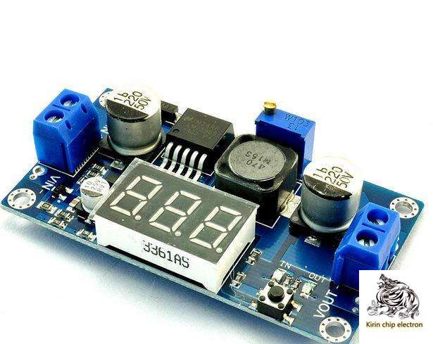 5pcs / Lot Lm2596 DC-DC Adjustable Step-down Module With Voltmeter Display