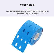 Kinesiology Tape Punched Gym Knee Pain Care New 2 Size Perforated Muscles Sports