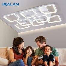 IRALAN LEDsโคมไฟระย้าบ้านโคมระย้าModern Lusterสำหรับห้องนั่งเล่นห้องนอนKitchernโคมระย้าบ้านสีขาวรุ่น0126