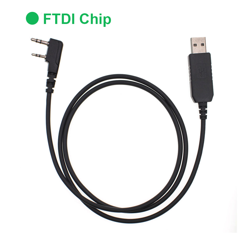 ANYSECU USB-K1 FTDI Programming Cable For K Interface SL1M DM960 UV-82 BaoFeng UV-5R BF-888S 2 Way Radio Etc