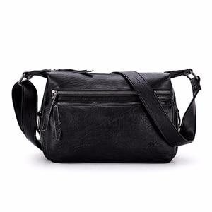 Image 2 - Luxury กระเป๋าถือผู้หญิงกระเป๋าออกแบบ 2019 หญิงหนังนุ่มกระเป๋าสะพาย Sac A หลัก Crossbody กระเป๋าผู้หญิงกระเป๋า Flap vintage