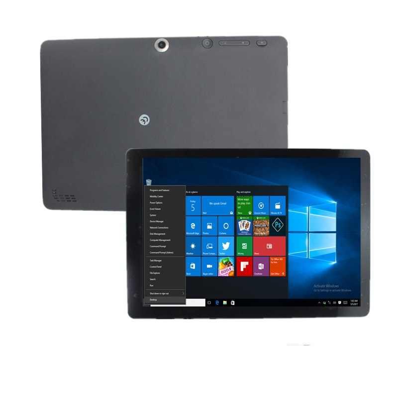 كمبيوتر لوحي 10 بوصة ويندوز 10 Atom (TM) CPU Z3735F رباعي النواة HDMI 2GB RAM 32GB ROM 1280x800 أسود واي فاي بلوتوث