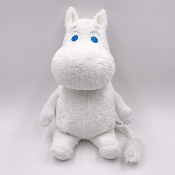Genuine authorization high quality Moomin 35 cm Sitting plush dolls Short plush toy for Birthday Christmas gift for boy girls moomin and the birthday button