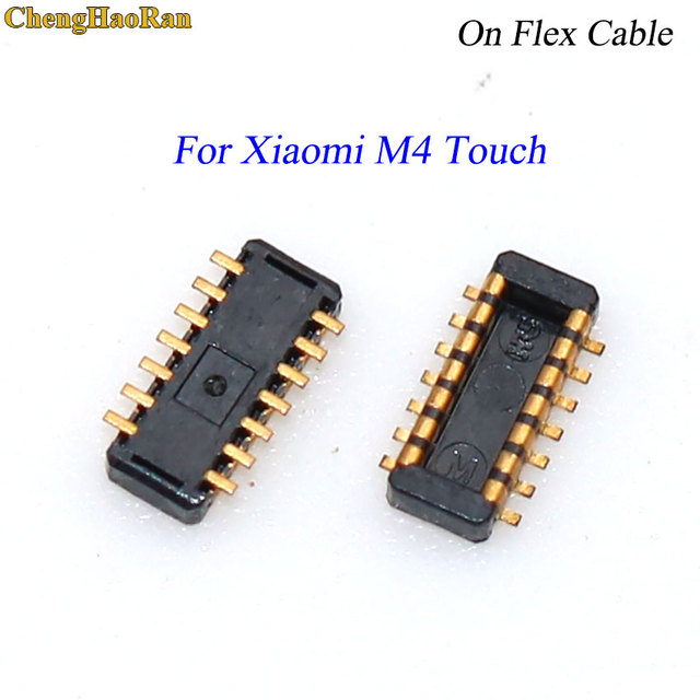 1 sztuk ekran dotykowy LCD Digitizer dotykowy złącze fpc wtyczka pokładzie Pin dla Xiaomi redmi M2 M3 M4 uwaga Max redmi 3 na flex cable