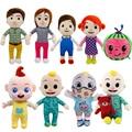 15-33 см Cocomelon плюшевая игрушка из мультфильма, популярная яркая детская одежда с рисунком персонажей сериалов семьи Cocomelon JJ брата и сестры пап...