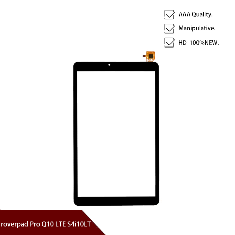 Original Black 10.1 Inch For Roverpad Sky Expert Q10 3G Tablet Pc Capacitive Touch Screen Glass Digitizer Panel Free Shipping
