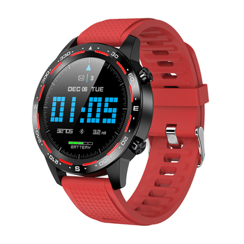 Sports Smartwatch L12 Waterproof IP68 Bluetooth Call Smart Watch Men MTK2502 Long Standby Fitness ECG Blood Pressure Clcok
