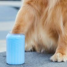 Dog Paw Cleaner Cup Soft Silicone Combs Portable Pet Foot Washer Clean Brush Quickly Wash Dirty Cat Cleaning Bucket
