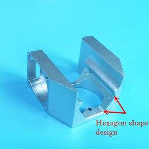Image 2 - Neue 3D Drucker Teile E3D V6 Alle Metall Fan Kanal super cool Können Montieren 3 stücke 3010 Kühlung Fans, v6S Hexagon form innere