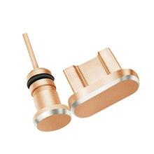 Siancs металлическая пылезащитная заглушка для Micro USB зарядного порта+ для разъема для наушников, стоппер для Android мобильных телефонов с разъёмом 3,5 мм, гарнитура, игла для извлечения карты