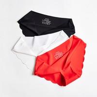 3 Pcs Women\'s Panties Seamless Underwear For Woman Sexy Lingerie Briefs Female Lingerie Sports Women Underwear New Sale BANNIROU 1