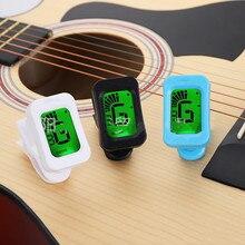 Guitar Tuner Violin Chromatic Clip-On Ukulele Digital for 1PCS 360-Degree Rotatable