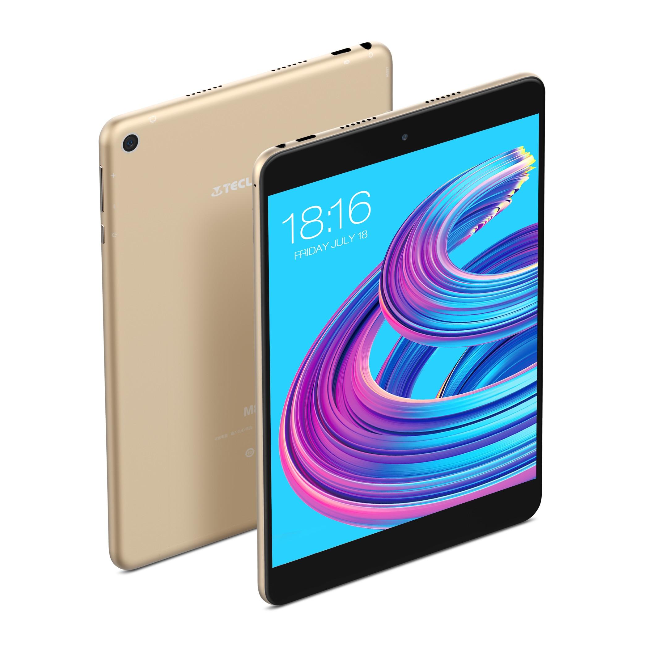 Teclast M89 Pro IPS 7.9 Inch 2048×1536 Tablet PC 3GB RAM 32GB ROM 10 Core MTK8176 Type-C Dual Cameras WiFi Metal Brand 4500mAh