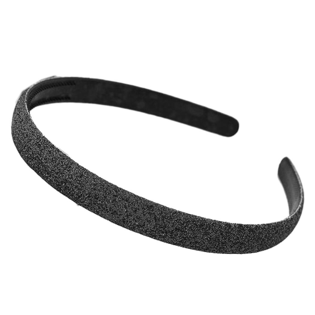 Women Fashion Solid Sequin Headband Hair Casual, Street, Outdoor Spring, Summer, Fall Band Gift