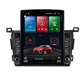 9.7 Android 10.1 For TOYOTA RAV4 2013 -2018 RAVTesla Type Car Radio Multimedia Video Player Navigation GPS RDS image
