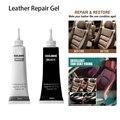 Усовершенствованный гель для ремонта кожи, 20 мл, средство для ухода за автомобилем и дома, виниловое средство для ремонта кожаных сидений, о...