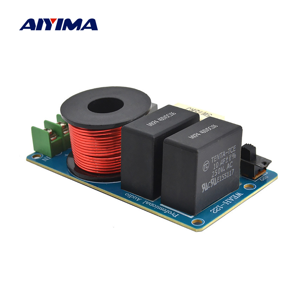 AIYIMA 120W Midrange Crossover Speaker Professional Frequency Divider Car Speaker Crossover Filter DIY
