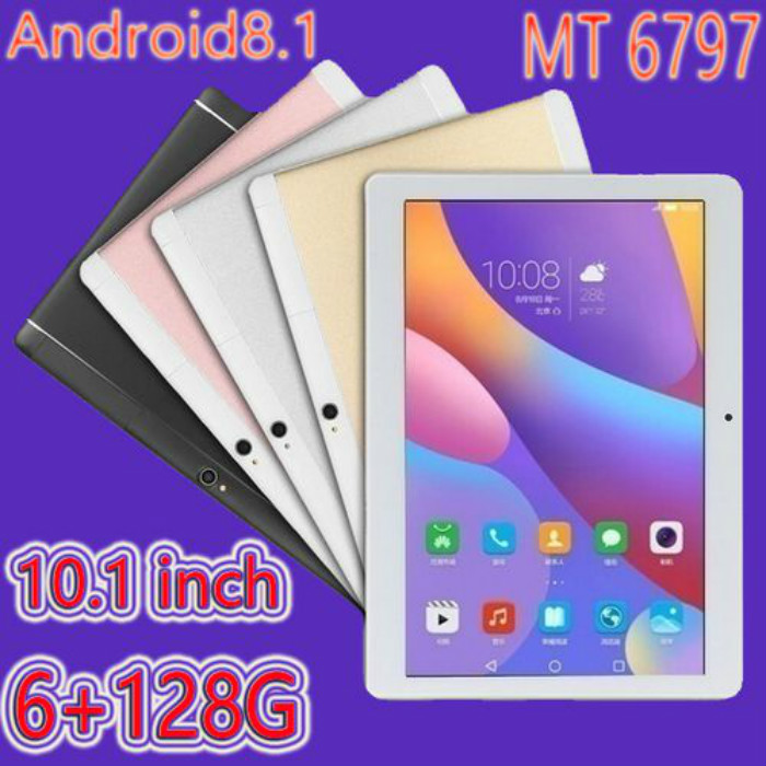 10.1 Inch RAM 6GB ROM 128GB 1920*1200 IPS Screen Tablet 10 Octa Core  4G Dual SIM Card Phone 4G Call Wifi Tablets PC Gift Tablet