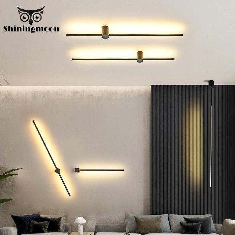 Lámpara colgante de atenuación nórdica luces colgantes LED modernas iluminación suspendida lámpara Industrial sala de estar decoración del hogar accesorios de iluminación