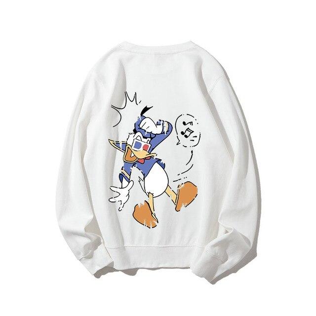 Disney Goofy Cartoon Sweat à Capuche Sweat Hommes Femmes Unisexe 3845