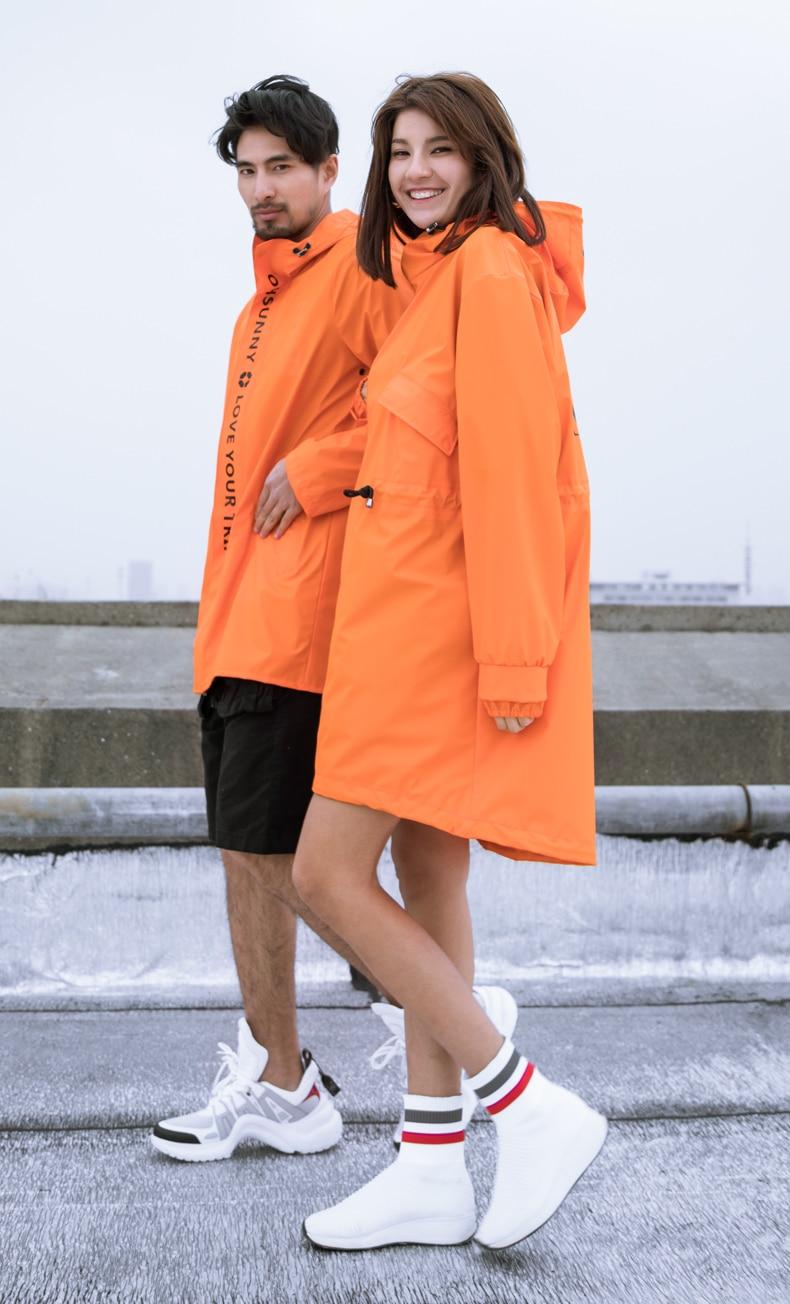 Capa de chuva ao ar livre jacke
