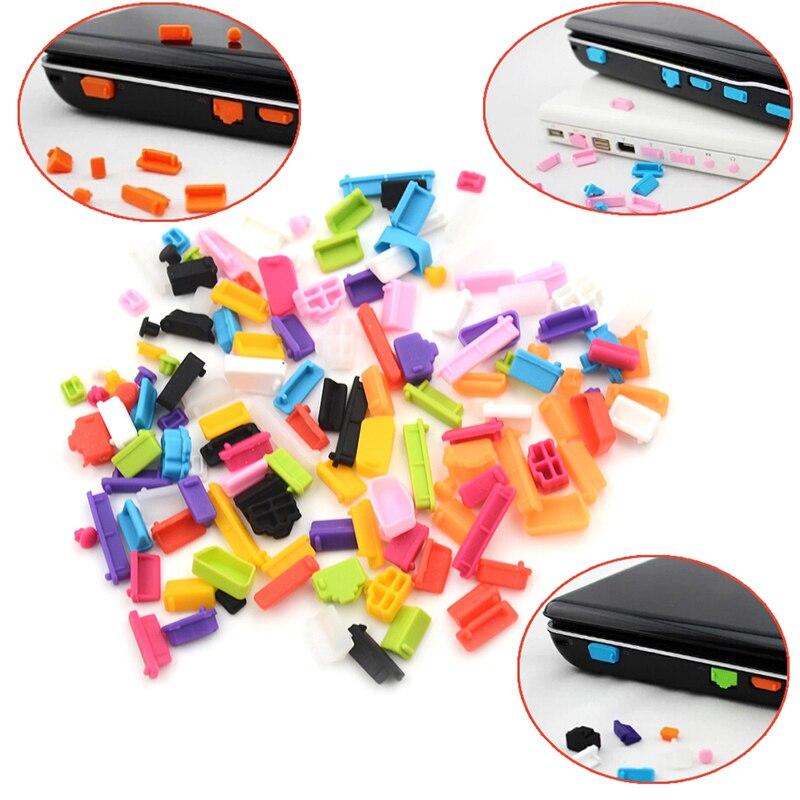 13 шт./компл. красочная силиконовая Пылезащитная заглушка для ноутбука Пылезащитная заглушка для usb аксессуары для компьютера-1