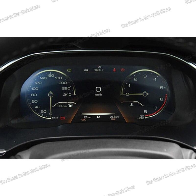 Lsrtw2017-pegatina de película protectora antiarañazos para coche, pantalla de salpicadero HD de TPU, para Haval H6 2018 2019 2020, accesorios interiores lcd