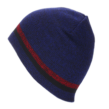 Knit Cap Short Striped Ski Hat Europe and America Autumn Winter Men Women Outdoor Warm for