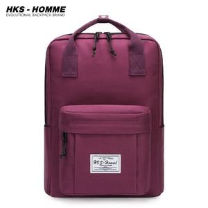 Image 1 - Водонепроницаемые рюкзаки для студентов, школьные сумки для девочек подростков, женский рюкзак топ, дорожная сумка, сумка на плечо, 2020