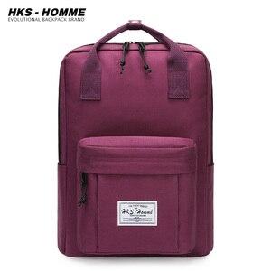 Image 1 - Yeni 2020 su geçirmez sırt çantaları öğrenci sırt çantası genç kızlar için okul çantaları FemaleLaptop sırt çantası seyahat çantası omuzdan askili çanta