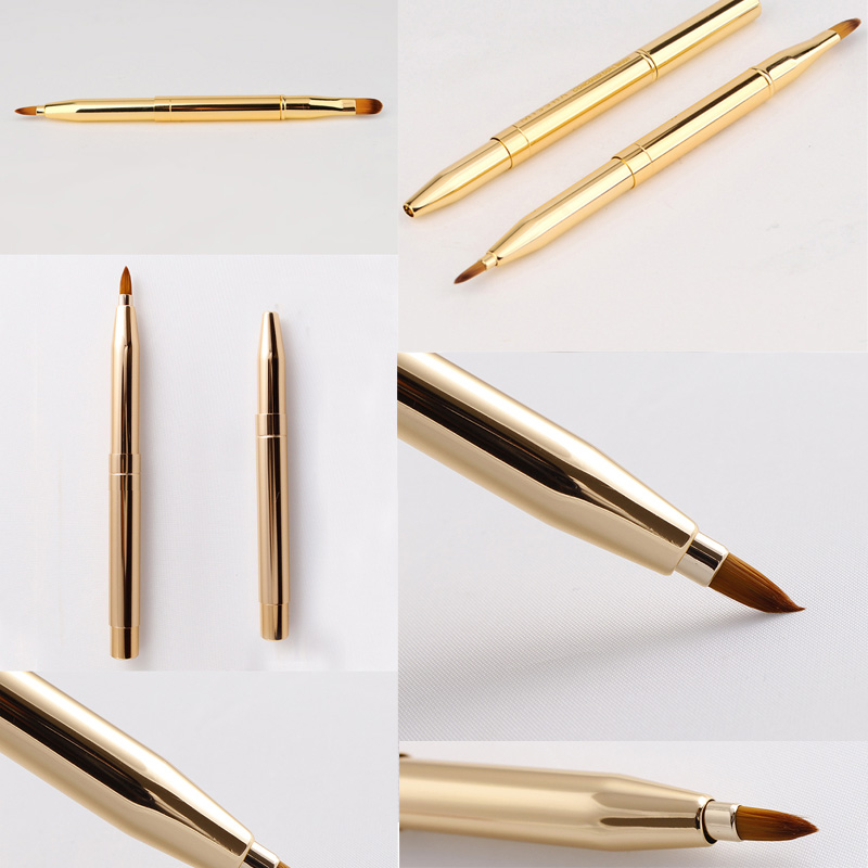 Fashion-Pro-Double-headed-Makeup-Brush-Retractable-Lip-Brush-Foundation-Brush-Make-Up-Adjustable-Tool-Retractable (1)