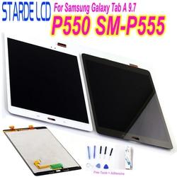STARDE Замена ЖК-дисплея для Samsung Galaxy Tab A 9,7 SM-P550 P555 P550 ЖК-дисплей с сенсорным экраном дигитайзер сборка 9,7