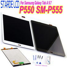 STARDE Replacement LCD for Samsung Galaxy Tab A 9.7 SM-P550 P555 P550 LCD Display Touch Screen Digitizer Assembly 9.7