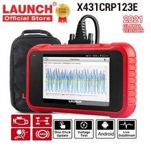 LAUNCH X431 CRP123E OBD OBD2 스캐너 자동차 코더 리더 ENG ABS SRS 자동차 진단 도구 무료 업데이트 pk CRP123
