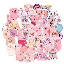 10/50 pçs criativo kawaii auto-feito rosa toot porco adesivos/adesivos bonitos/adesivo decorativo/diy artesanato álbuns de fotos
