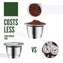 Capsule For Nespresso Reutilisable Inox Refillable Capsule Crema Espress Reusable Refillable
