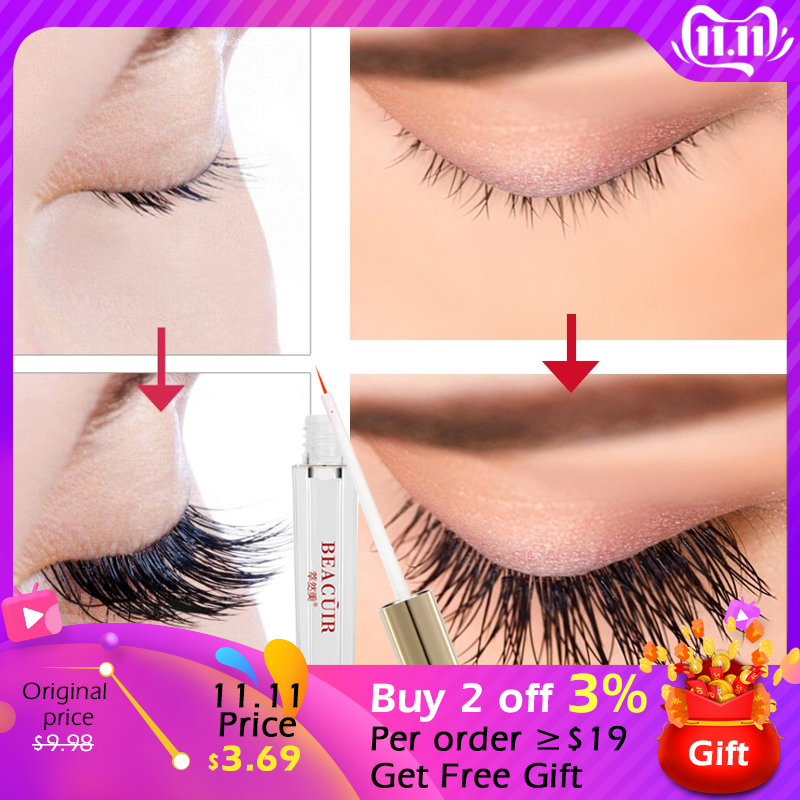 Eyelash Growth Eye Serum Vitamin E Eyelash Enhancer Treatment Lash Lift Eyes Lashes Mascara Eyebrows Enhancer Eye Care BEACUIR