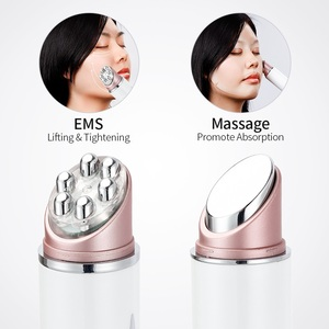 Image 5 - Elektrische Facial Eye Massager Pen Trillingen Dubbele Hoofd Ems Verjonging Eye Machine Led Photon Huidverjonging Anti Rimpel